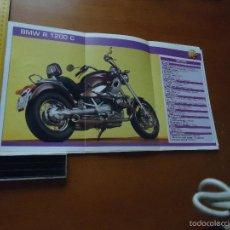 Coches y Motocicletas: CARRERAS DE MOTOS 43,5X24,5 GRAN POSTER MOTO - BMW R 1200 C. Lote 55878996