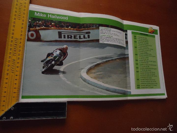 CARRERAS DE MOTOS 43,5X24,5 GRAN POSTER MOTO - MIKE HAILWOOD (Coches y Motocicletas - Revistas de Motos y Motocicletas)