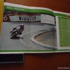 Coches y Motocicletas: CARRERAS DE MOTOS 43,5X24,5 GRAN POSTER MOTO - MIKE HAILWOOD . Lote 55879184
