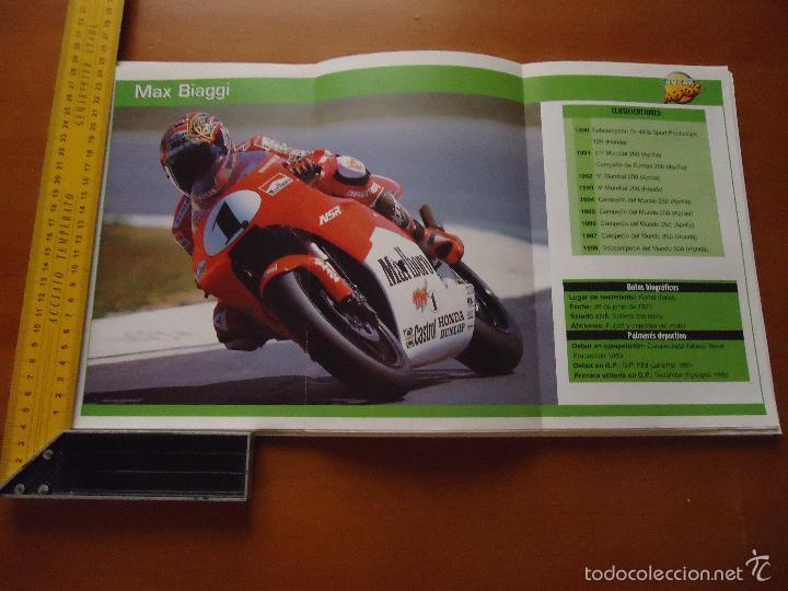 CARRERAS DE MOTOS 43,5X24,5 GRAN POSTER MOTO - MAX BIAGGI , MALBORO CASTROL HONDA DUNLOP (Coches y Motocicletas - Revistas de Motos y Motocicletas)