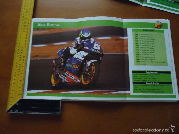 CARRERAS DE MOTOS 43,5X24,5 GRAN POSTER MOTO - ALEX BARROS , MOVISTAR REPSOL HONDA (Coches y Motocicletas - Revistas de Motos y Motocicletas)