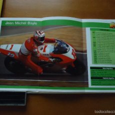 Coches y Motocicletas: CARRERAS DE MOTOS 43,5X24,5 GRAN POSTER MOTO - JEAN MICHEL BAYLE. Lote 55879384