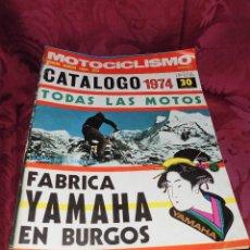 Coches y Motocicletas: MAGNIFICAS 39 REVISTA ANTIGUAS MOTOCICLISMO AÑO COMPLETO LAS DEL 1974. Lote 56198620