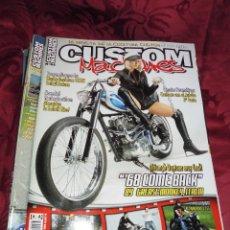 Coches y Motocicletas: LOTE DE 9 REVISTA CUSTOM. Lote 56201236