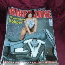 Coches y Motocicletas: GRAN LOTE DE 77 REVISTAS BIKER ZONE. Lote 56201951