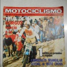 Coches y Motocicletas: MOTOCICLISMO NUM 630 DE 1979TRIAL DE IBI OSSA 350 T.T. MECATECNO INFANTIL CRITERIUM AGV. Lote 56203692