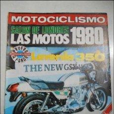 Coches y Motocicletas: MOTOCICLISMO NUM 623 DE 1979 EXTRA PRUEBA LAVERDA 350 PRESENTACION SWM RS 370 GS SALON DE LONDRES. Lote 56203788