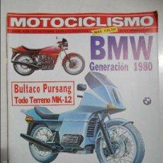 Coches y Motocicletas: MOTOCICLISMO NUM 628 DE 1979 GENERACION BMW BULTACO PURSANG MK-12 MONTESA ENDURO 74 ESPECIAL. Lote 56204007