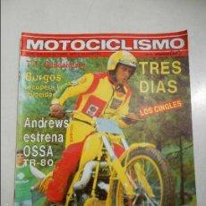 Coches y Motocicletas: MOTOCICLISMO NUMERO 629 DE 1979 OSSA TR-80 RICARDO TORMO (BULTACO) 125 MONJONELL ESTRENO PUCH. Lote 56207442