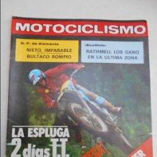 Coches y Motocicletas: MOTOCICLISMO NUM 609 DE 1979 24 HORAS DE VESPA 200 I COPA BULTACO DE MOTO CROSS. Lote 56251737