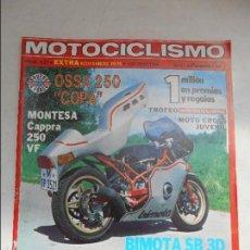 Coches y Motocicletas: MOTOCICLISMO NUM 631 DE 1979 EXTRA PRUEBA OSSA 250 COPA PRUEBA MONTESA CAPPRA 250 VF MAICO 440. Lote 56253627