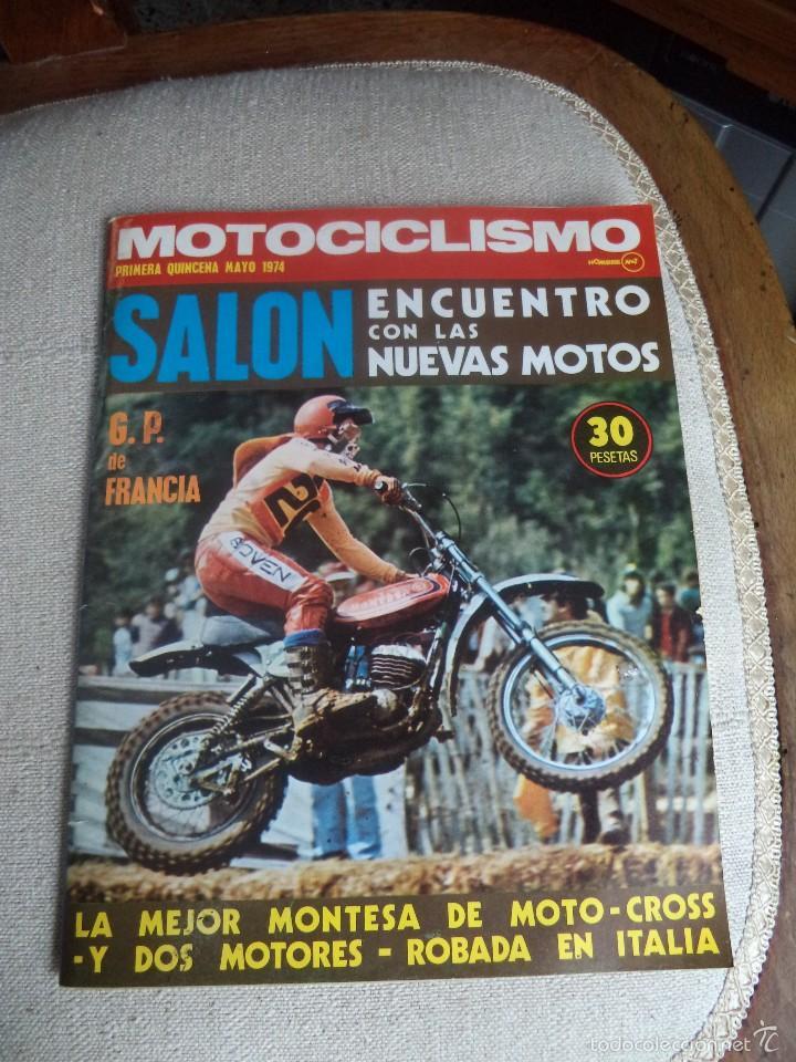 REVISTA MOTOCICLISMO PRIMERA QUINCENA DE MAYO 1974 MONTESA (Coches y Motocicletas - Revistas de Motos y Motocicletas)