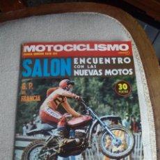 Coches y Motocicletas: REVISTA MOTOCICLISMO PRIMERA QUINCENA DE MAYO 1974 MONTESA. Lote 56275560