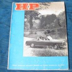 Coches y Motocicletas: REVISTA DE HP DEL ANUARIO AUTOMOVILISTA DE ESPAÑA. AÑO XX. Nº 100. MAYO JUNIO 1966. Lote 56317225