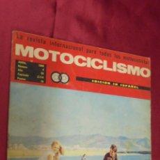 Coches y Motocicletas: MOTOCICLISMO. Nº 4. ABRIL 1969. PEDRO ALVAREZ ADIOS A UN CAMPEON .. Lote 56621161