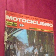 Coches y Motocicletas: MOTOCICLISMO. NOVIEMBRE 1969. PRUEBA BULTACO LOBITO MK3 74 C. C.. Lote 56641559