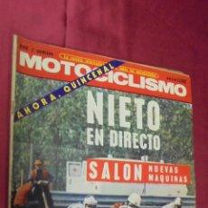 Coches y Motocicletas: MOTOCICLISMO. MAYO 2ª QUINCENA 1972. PRUEBA PEUGEOT 104.. Lote 56641994