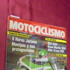 Coches y Motocicletas: MOTOCICLISMO. Nº 809. JULIO 1983. 8 HORAS JARAMA. MONTJUIC Y SUS PROTAGONISTAS.. Lote 56650683