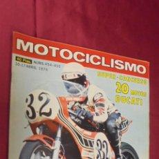 Coches y Motocicletas: MOTOCICLISMO. Nº 454-455. 10-17 ABRIL 1976. PRUEBA: HONDAMATIC 750. . Lote 56842252