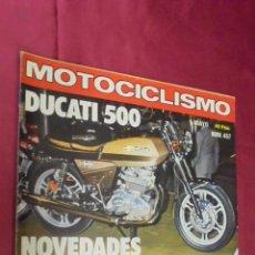 Coches y Motocicletas: MOTOCICLISMO. Nº 457. 1 MAYO 1976. DUCATI 500.. Lote 56843005