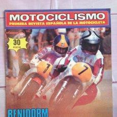 Coches y Motocicletas: REVISTA MOTOCICLISMO - NUMERO 537 - 20 NOVIEMBRE 1977 - BENIDORM GRAVE CAIDA NIETO - PROTOTIPO DERBI. Lote 57288568