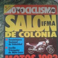 Coches y Motocicletas: REVISTA MOTOCICLISMO 25 DE SEPTIEMBRE 1982 YAMAHA SUZUKI DUCATI KAWASAKI BENELLI OSSA DERBI MONTESA. Lote 57320459