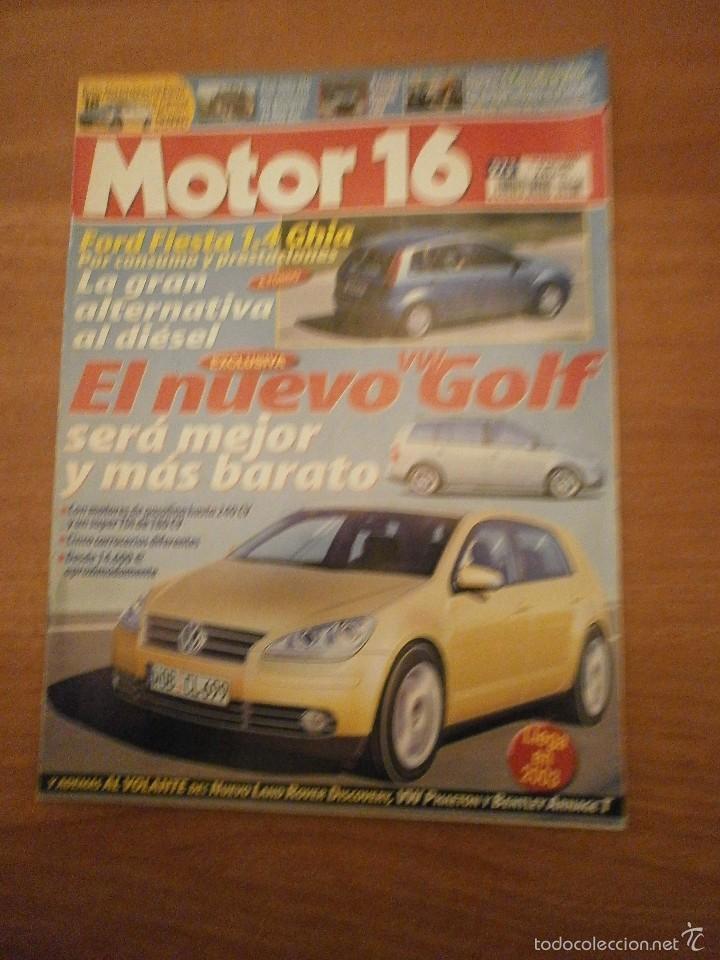 REVISTA MOTOR 16 - 11 DE JUNIO 2002- Nº 973 (Coches y Motocicletas - Revistas de Motos y Motocicletas)