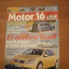 Coches y Motocicletas: REVISTA MOTOR 16 - 11 DE JUNIO 2002- Nº 973. Lote 57578294