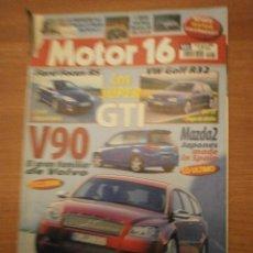 Coches y Motocicletas: REVISTA MOTOR 16- 20 DE AGOSTO 2002- Nº 983. Lote 57578379