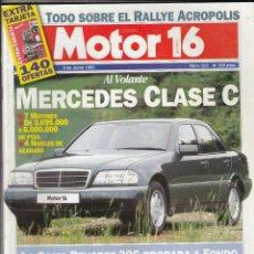 Coches y Motocicletas: REVISTA MOTOR 16 Nº 503 AÑO 1993. PRUEBA: HONDA XRV 750 AFRICA TWIN. . Lote 57706444