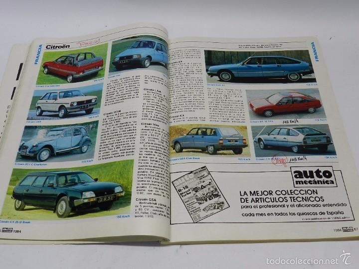 Coches y Motocicletas: AUTO CATÁLOGO (REVISTA AUTOPISTA), Nº 4 DEL AÑO 1984, TIENE 260 páginas. Tiene anotaciones técnicas - Foto 2 - 57899199