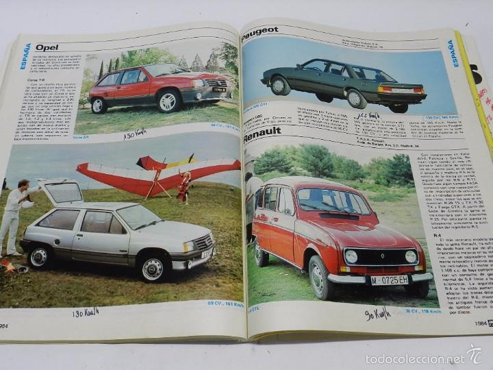 Coches y Motocicletas: AUTO CATÁLOGO (REVISTA AUTOPISTA), Nº 4 DEL AÑO 1984, TIENE 260 páginas. Tiene anotaciones técnicas - Foto 3 - 57899199