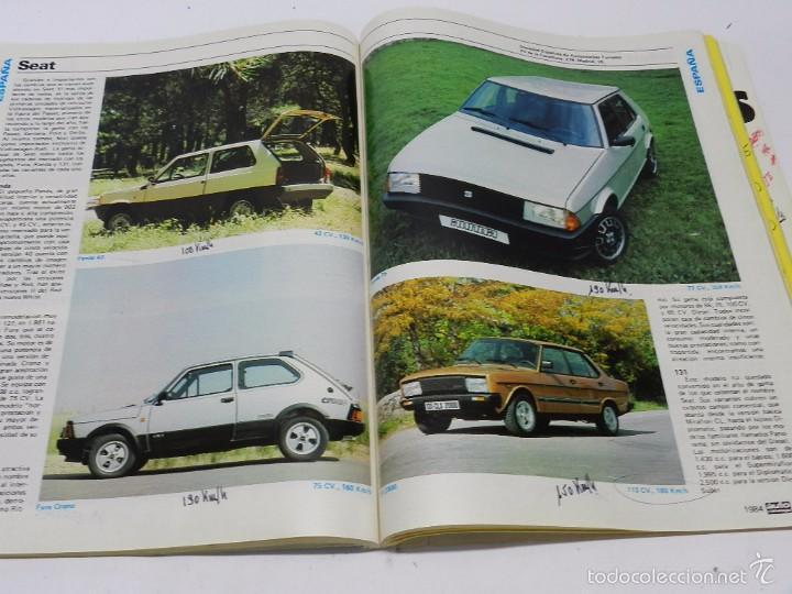 Coches y Motocicletas: AUTO CATÁLOGO (REVISTA AUTOPISTA), Nº 4 DEL AÑO 1984, TIENE 260 páginas. Tiene anotaciones técnicas - Foto 4 - 57899199