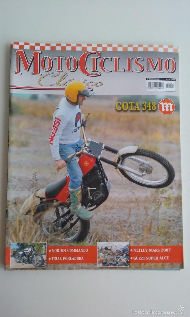 REVISTA/MOTOCICLISMO CLASICO Nº62/MONTESA COTA 348 (Coches y Motocicletas - Revistas de Motos y Motocicletas)