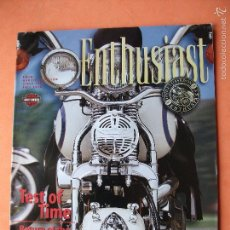 Coches y Motocicletas: FROM HARLEY D . SINCE 1916 -1996 TEST OF TIME ENTHUSIAST REVISTA USA PEPETO. Lote 58161877