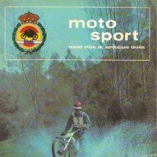 Coches y Motocicletas: REVISTA MOTOCICLISTA MOTO SPORT Nº 67. Lote 58379744