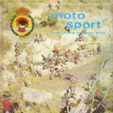 Coches y Motocicletas: REVISTA MOTOCICLISTA MOTO SPORT Nº 73. Lote 58380104
