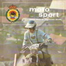 Coches y Motocicletas: REVISTA MOTOCICLISTA MOTO SPORT Nº 78. Lote 58380125