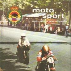Coches y Motocicletas: REVISTA MOTOCICLISTA MOTO SPORT Nº 89. Lote 58380170