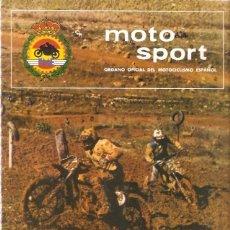 Coches y Motocicletas: REVISTA MOTOCICLISTA MOTO SPORT Nº 91. Lote 58380212