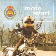 Coches y Motocicletas: REVISTA MOTOCICLISTA MOTO SPORT Nº 100. Lote 58380262