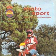 Coches y Motocicletas: REVISTA MOTOCICLISTA MOTO SPORT Nº 103. Lote 58380300
