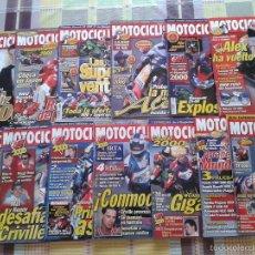 Coches y Motocicletas: LOTE REVISTA MOTOCICLISMO 1º TRIMESTRE 2000 (13 NÚMEROS: 1662 A 1675) FALTA EL 1674. Lote 58684689