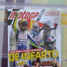 Coches y Motocicletas: ESPECIAL MOTOCICLISMO GRANDES PREMIOS 09 2009 ROSSI SIMÓN Y AOYAMA DE INFARTO. Lote 58697168