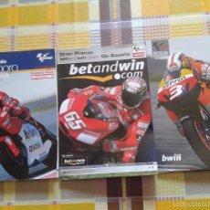 Coches y Motocicletas: LOTE 3 PROGRAMAS OFICIALES GRAN PREMIO DE ESPAÑA 2000, 2006 Y 2009. Lote 58736032