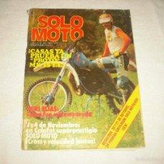 Coches y Motocicletas: SOLO MOTO N° 210 , OCTUBRE 1979,CASAS YA PRUEBA UN PROTO !. Lote 59950355