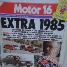 Coches y Motocicletas: REVISTA MOTOR 16 NUMERO 60 15 DICIEMBRE 1984 EXTRA 1985. Lote 60433507