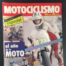 Coches y Motocicletas: REVISTA MOTOCICLISMO NUMERO Nº 734 1981 ESPECIAL EL AÑO DE LA MOTO GUIA 1982. Lote 60595407