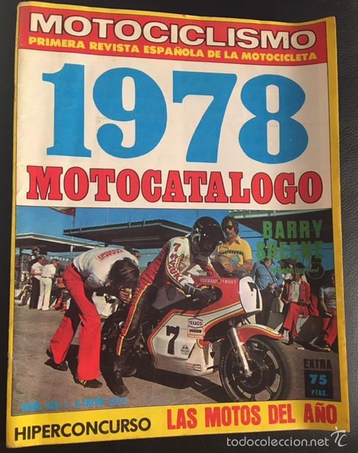 REVISTA MOTOCICLISMO NUMERO Nº 543 ESPECIAL MOTOCATALOGO 1978 (Coches y Motocicletas - Revistas de Motos y Motocicletas)