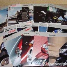 Coches y Motocicletas: LOTE DE CATÁLOGOS Y FOLLETOS MOTOS YAMAHA - AÑOS 2006 - 2008 - 2009. Lote 61592960